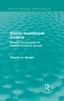 Public Investment Criteria (Routledge Revivals)