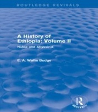 History of Ethiopia: Volume II (Routledge Revivals)