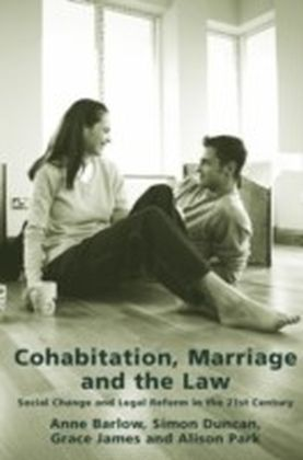 Cohabitation, Marriage and the Law