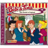 Bibi & Tina - Das Gestüt in England, 1 Audio-CD