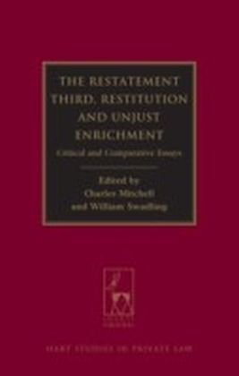 Restatement Third: Restitution and Unjust Enrichment