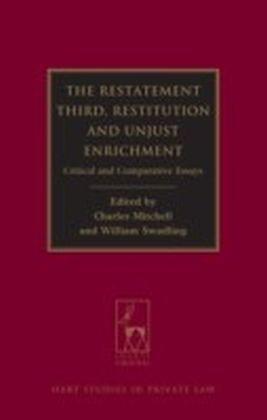 Restatement Third: Restitution and Unjust Enrichment