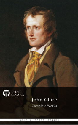 Delphi Complete Works of John Clare (Illustrated)