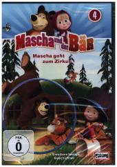 Mascha und der Bär - Mascha geht zum Zirkus, 1 DVD Cover