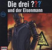 Die drei ??? - und der Eisenmann, 1 Audio-CD Cover