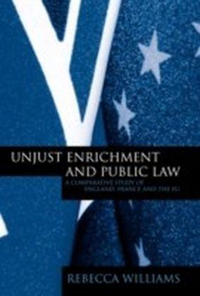 Unjust Enrichment and Public Law