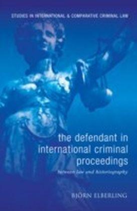 Defendant in International Criminal Proceedings
