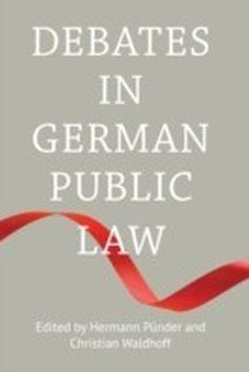 Debates in German Public Law,