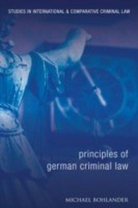 Principles of German Criminal Law
