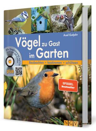 Vögel zu Gast im Garten, m. Audio-CD
