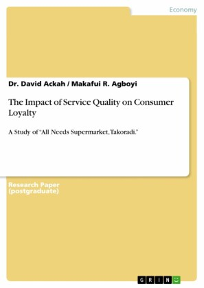 The Impact of Service Quality on Consumer Loyalty