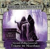 Gruselkabinett - Träume im Hexenhaus, 1 Audio-CD Cover