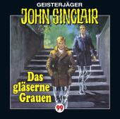 John Sinclair - Das gläserne Grauen, Audio-CD Cover