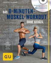 Das 8-Minuten-Muskel-Workout ohne Geräte, m. DVD Cover