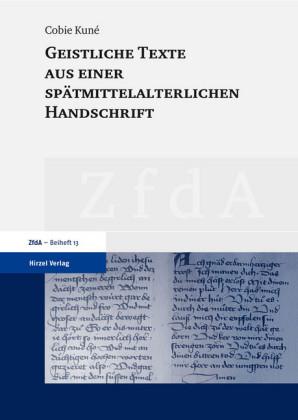 Geistliche Texte aus einer spätmittelalterlichen Handschrift