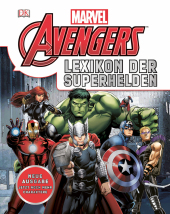 Marvel Avengers - Lexikon der Superhelden Cover