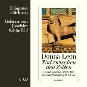 Tod zwischen den Zeilen, 6 Audio-CD Cover
