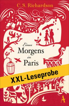 XXL-LESEPROBE: Richardson - Eines Morgens in Paris