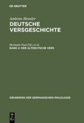 Der altdeutsche Vers