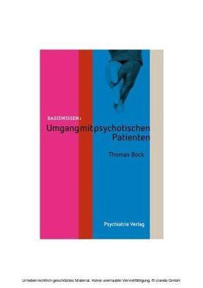 Umgang mit psychotischen Patienten