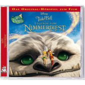 Disney Tinkerbell und die Legende vom Nimmerbiest, 1 Audio-CD Cover