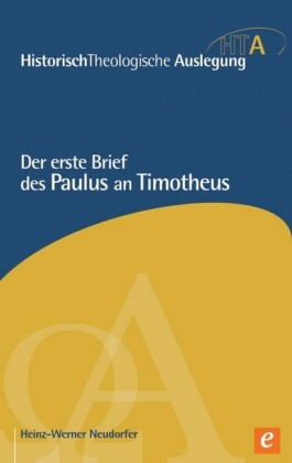 Der erste Brief des Paulus an Timotheus