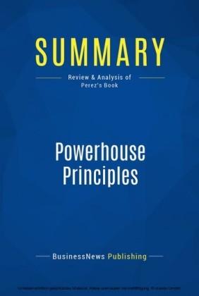 Summary: Powerhouse Principles