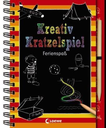 Kreativ-Kratzelspiel - Ferienspaß