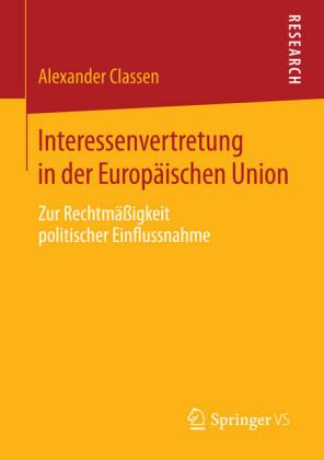Interessenvertretung in der Europäischen Union
