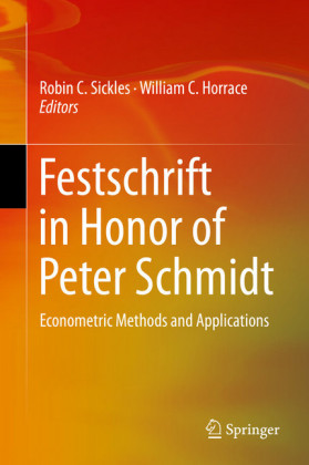 Festschrift in Honor of Peter Schmidt