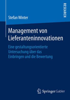 Management von Lieferanteninnovationen