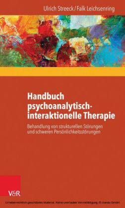 Handbuch psychoanalytisch-interaktionelle Therapie
