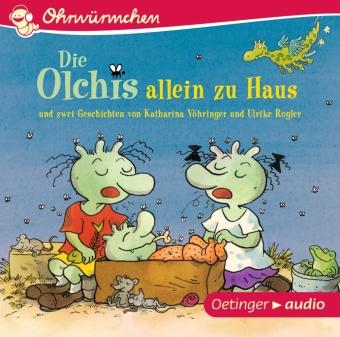 Die Olchis allein zu Haus und zwei Geschichten von Katharina Vöhringer und Ulrike Rogler, 1 Audio-CD