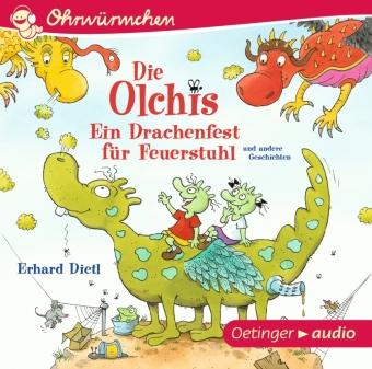 Ein Drachenfest für Feuerstuhl und andere Geschichten, 1 Audio-CD