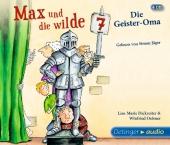 Max und die Wilde Sieben - Die Geister-Oma, 3 Audio-CDs Cover