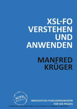 XSL-FO verstehen und anwenden