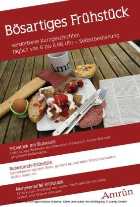 Frühstücksanthologie 1: Bösartiges Frühstück