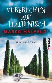 Verbrechen auf Italienisch Cover