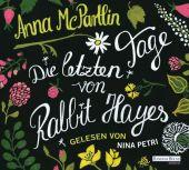 Die letzten Tage von Rabbit Hayes, 5 Audio-CDs Cover