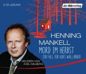 Mord im Herbst, 3 Audio-CDs Cover