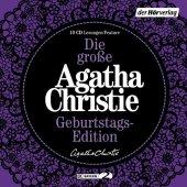 Die große Agatha Christie Geburtstags-Edition, 10 Audio-CDs Cover