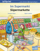 Im Supermarkt, Deutsch-Türkisch;Süpermarkette Cover