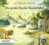 Die große Herder Kinderbibel, 4 Audio-CDs Cover
