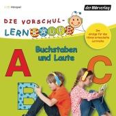 Die Vorschul-Lernraupe - Buchstaben und Laute, 1 Audio-CD Cover
