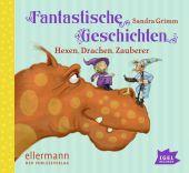 Fantastische Geschichten. Hexen, Drachen, Zauberer, Audio-CD Cover