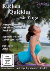 Rücken Quickies mit Yoga, 1 DVD