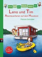 Lena und Tim - Abenteuerferien auf dem Hausboot Cover