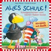 Kleiner Rabe Socke: Alles Schule!, 1 Audio-CD Cover