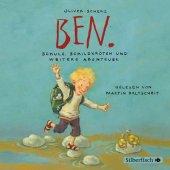 Ben, Schule, Schildkröten und weitere Abenteuer, Audio-CD Cover