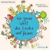 Die ganze Welt der Lieder und Reime, 1 Audio-CD Cover